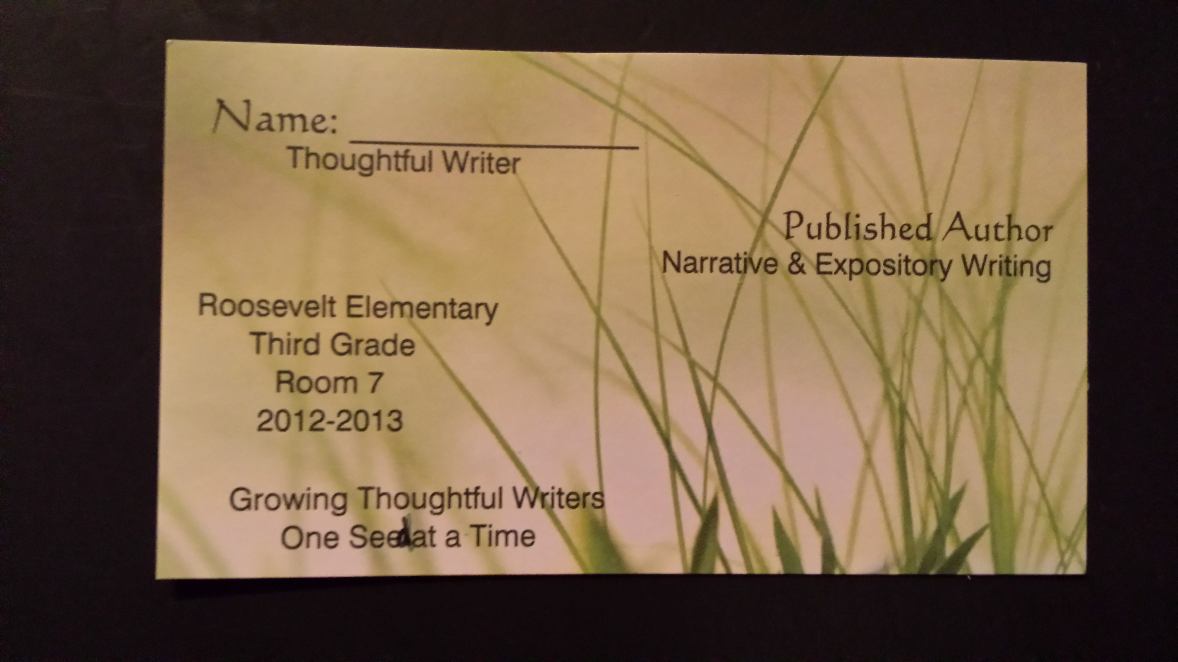 Celebrating Writers: A Spotlight on 95th Street Preparatory School ...